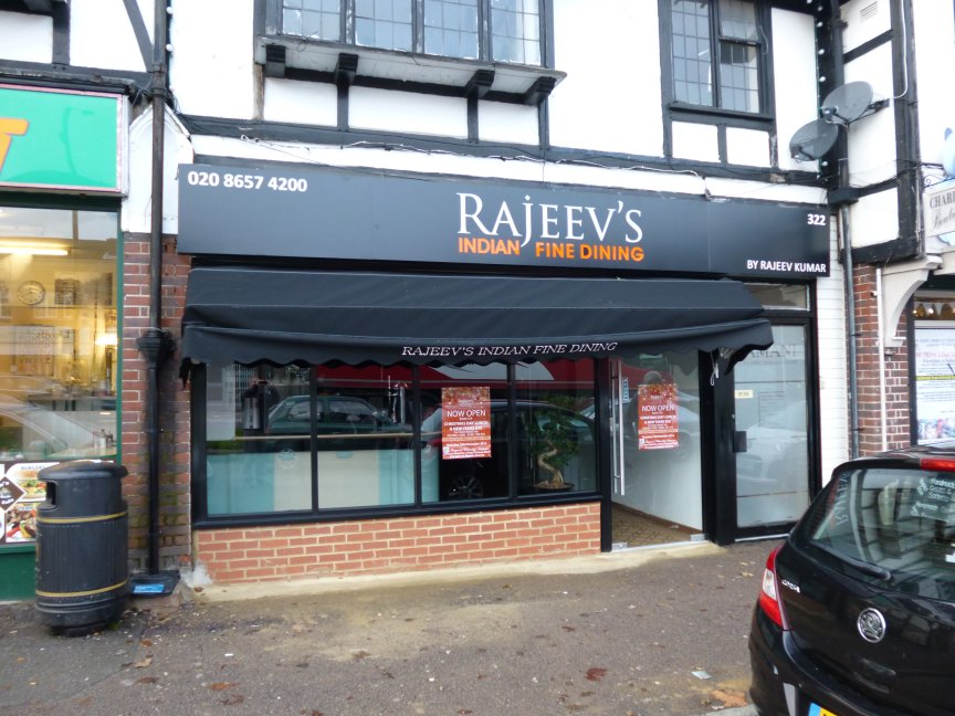 Rajeevs - New Restaurant in Hamsey Green